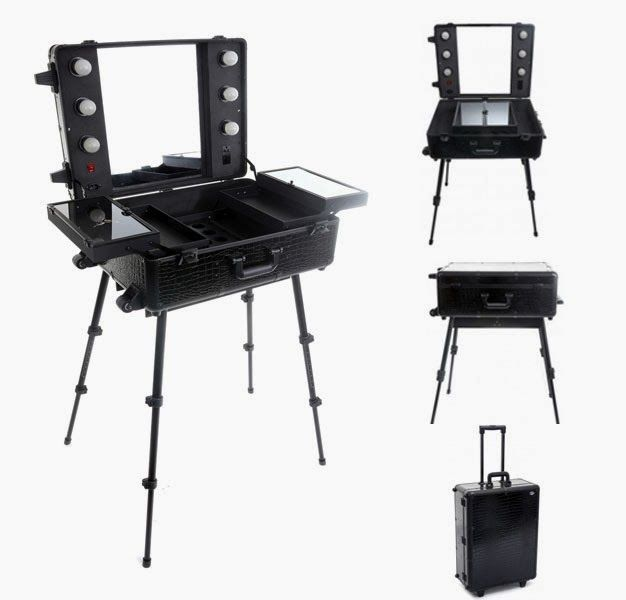 United Salon Supplies-Hair & Beauty Supplies: Mobile Makeup & Beauty Station, the best beauty studio for busy makeup artists @Becky Hui Chan Nielson Salon Supplies #makeupstation #beauty #makeup #salonsupplies