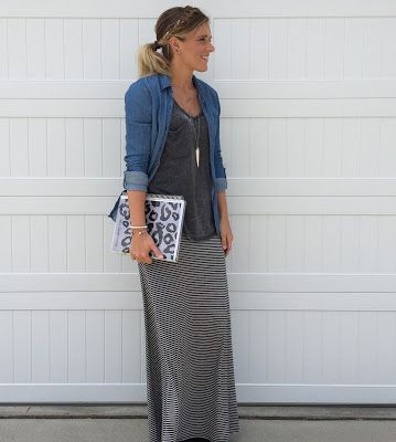 rock, STYLE, teach: The LuLaRoe Maxi Skirt Revisited and Remixed