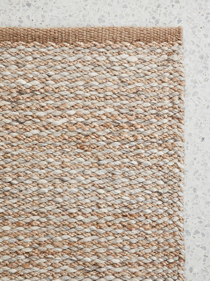 Thick, Sturdy Hemp Is Set Against Undulating Lines Of Luxurious Wool To  Balance Generous Doses Of Differing Texture.