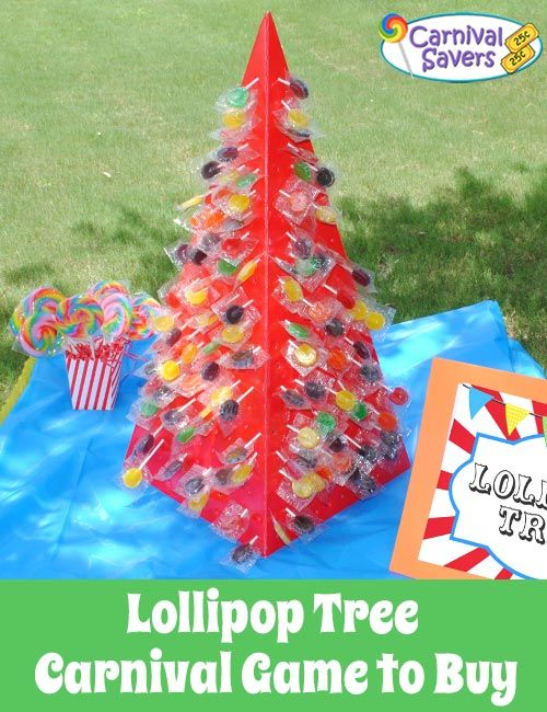 Lollipop Tree - Holds 400 Pops!  Great for school carnivals, fundraising carnivals, fall festivals and more!