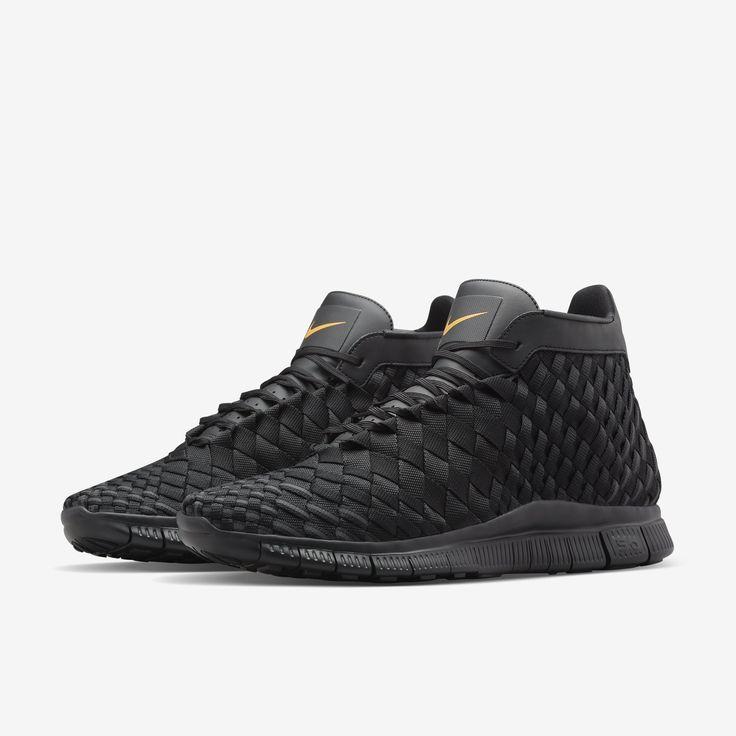 new style b93dc 586bb mens nike free inneva woven running shoes