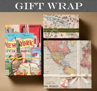 33 best cavallini images on pinterest gift wrapping gift cavallini gift wrap map and vintage artwork wrap for equally at home on a package gumiabroncs Choice Image