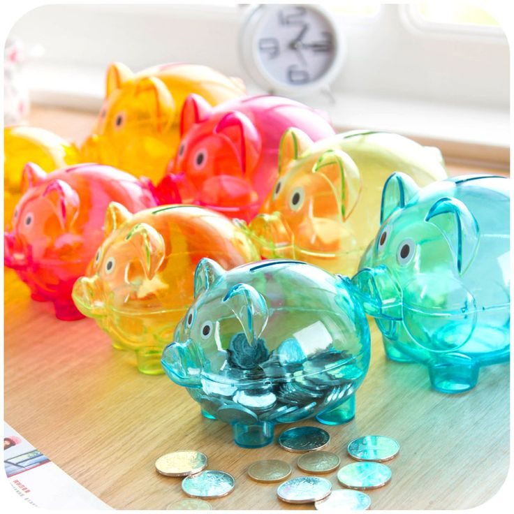 >> Click to Buy << vanzlife scandinavian style transparent piggy creative birthday gift children piggy bank #Affiliate