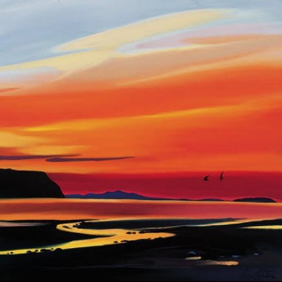 Waterloo Sunset Limited Edition - ART PRINT BY PAM CARTER, SCOTTISH ARTIST
