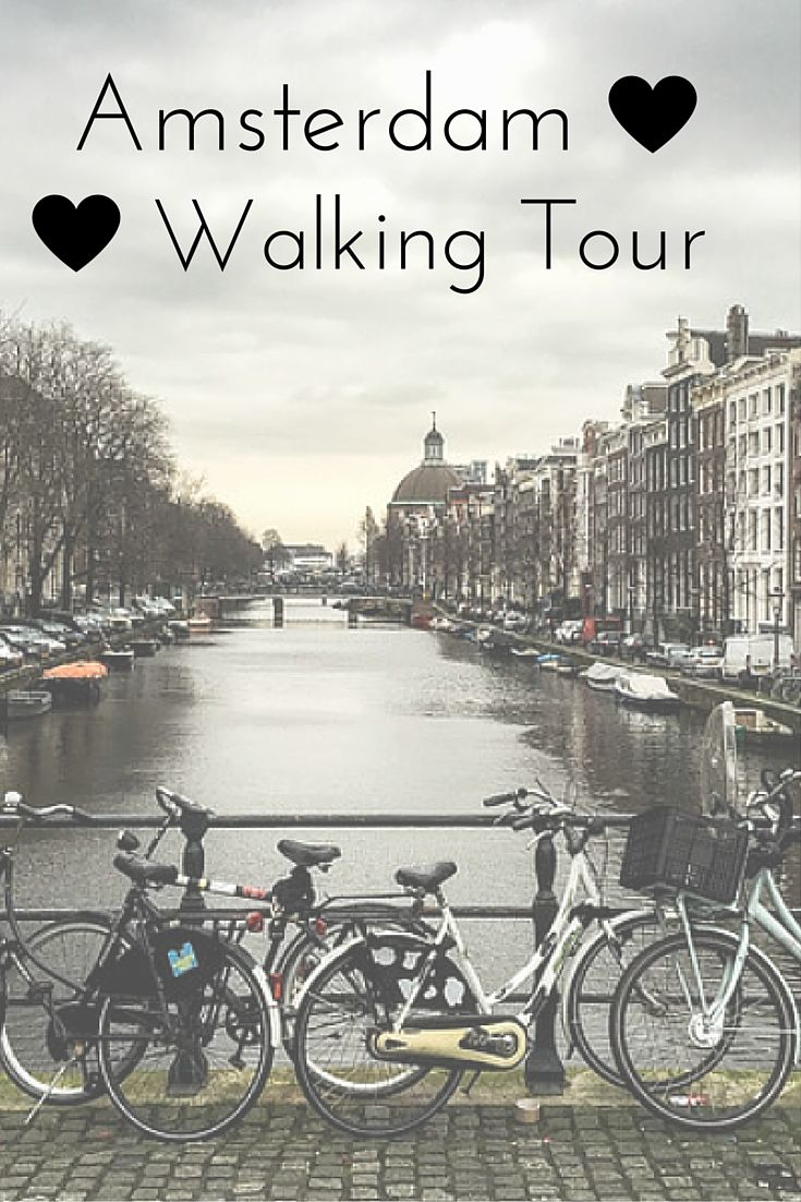 Amsterdam Walking Tour – Why It's Epic and Controversial? The Netherlands was an amazing experience however Amsterdam is a city of bikes.