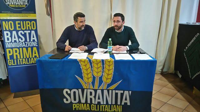 CAPITAN FUTURO: SOVRANITA': Raccolta firme contro immigrazione cla...