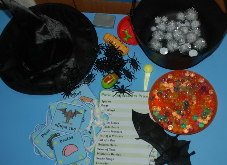 Role playing idea to go with Room on the Broom or Winnie the witch