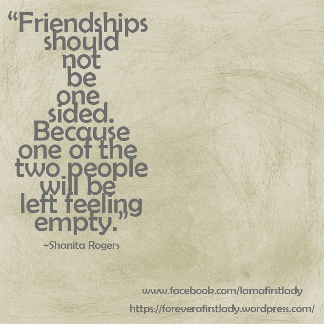 Grace Covers Me: Why Does Friendship At Times Feel One-Sided ...