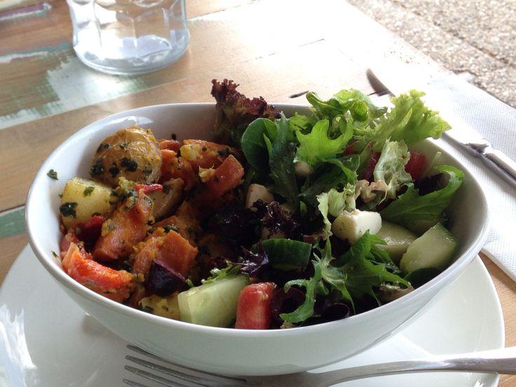 Big salad. Too delicious‼︎ In Brisbane, Australia