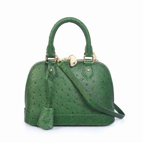 louis vuitton bags outlet. $272.00 2013 louis vuitton ostrich leather alma bb m91606 green outlet online bags n