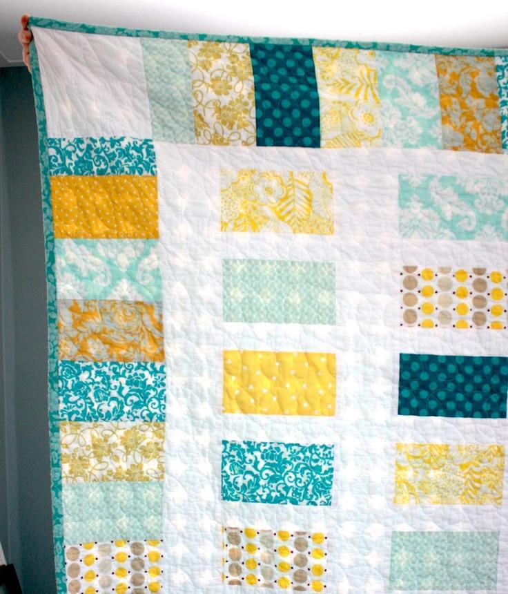 quilt: Colour, Rectangular Colors, Quilts Patterns, Colors Combos, Color Combos, Baby Quilts, Photo, Cute Pattern