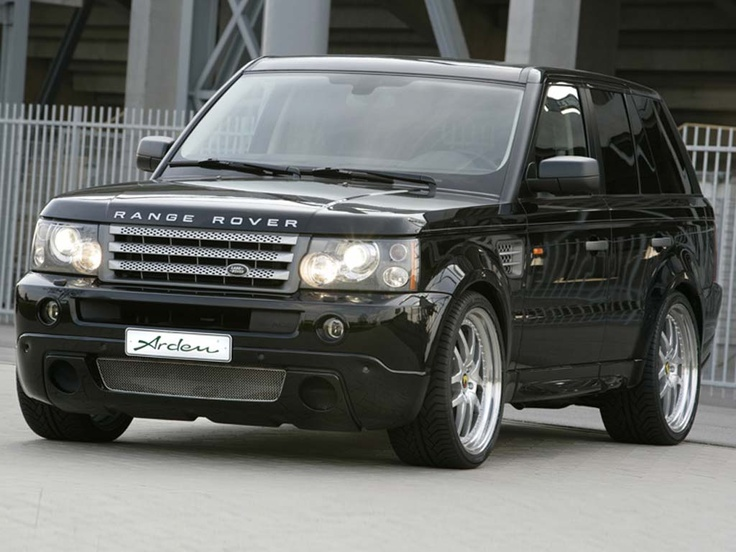 Arden Range Rover Sport (2006) - Front Side View