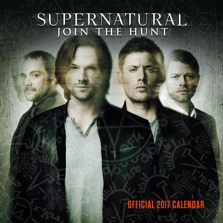 New Official Supernatural 2017 Calendar available with FREE UK P&P (plus worldwide delivery available) at http://bit.ly/TVCals2017