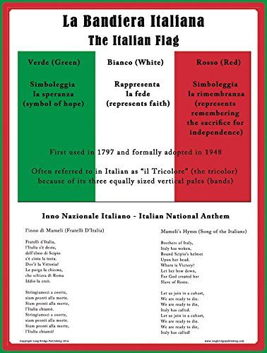 Italian Flag School Poster for Classroom Decor and Teaching (17x24 inches) Long Bridge Publishing http://www.amazon.com/dp/B01CO5DQ4K/ref=cm_sw_r_pi_dp_QPW3wb06YGGTX