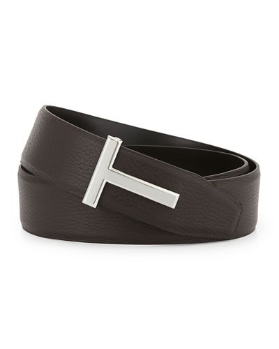 Tom+Ford+Reversible+Leather+Logo+Belt+|+Accessory