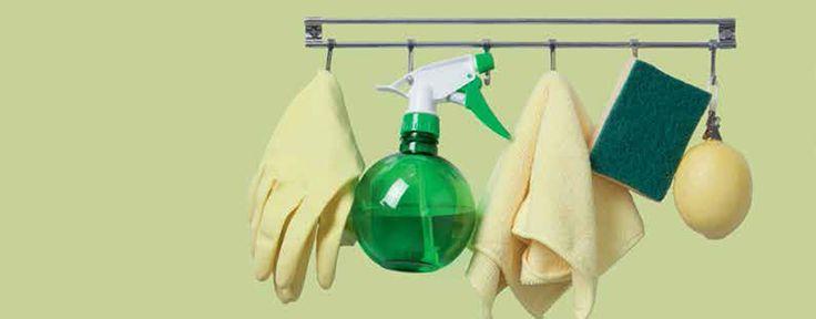 Schoonmaaktips voor koelkast, vriezer, oven, magnetron en gasfornuis.