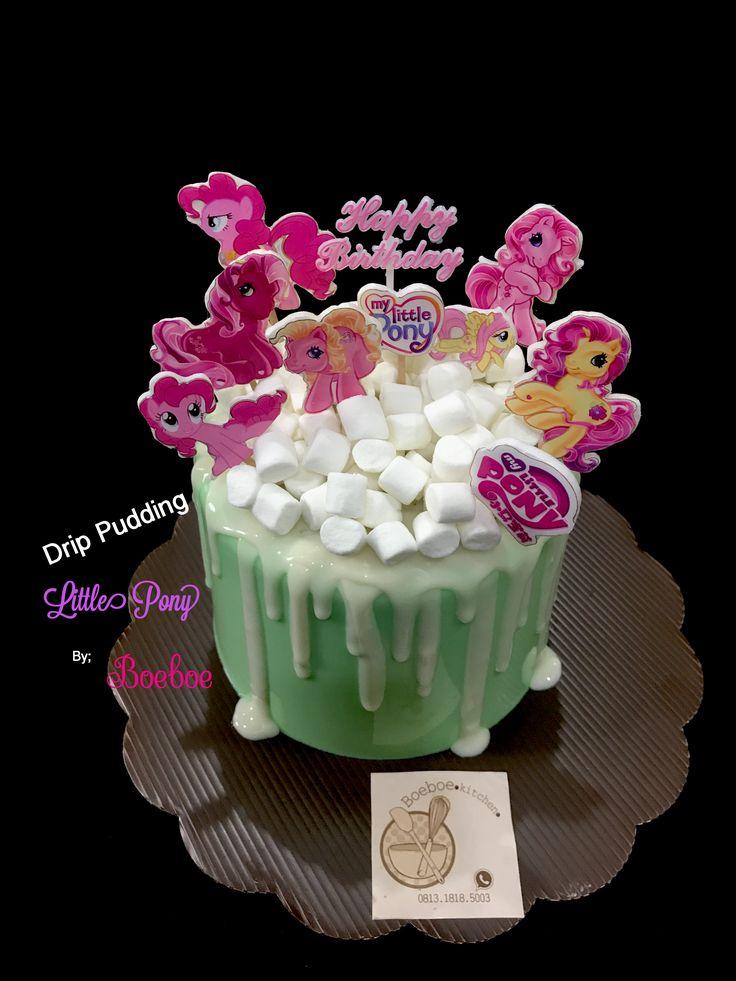 Drip Pudding  #drippudding #pudding #birthdaypudding