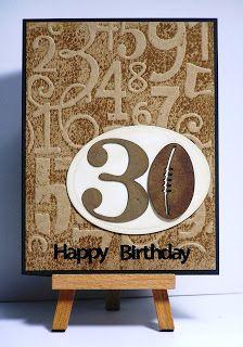 Cathys Card Spot: Footy Fan's Birthday