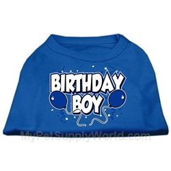 Mirage Pet Products 16Inch Birthday Boy Screen Print Shirts XLarge Blue ** This is an Amazon Affiliate link. Want to know more, click on the image.
