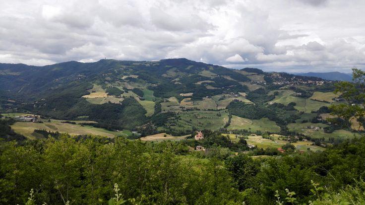 Bologna hill...