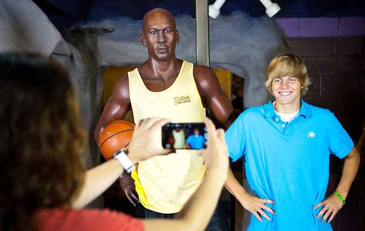 Potters Wax Museum is a fun, family-friendly attraction that offers a surreal…