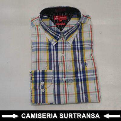 Camisa Cuadros Surtransa 1128