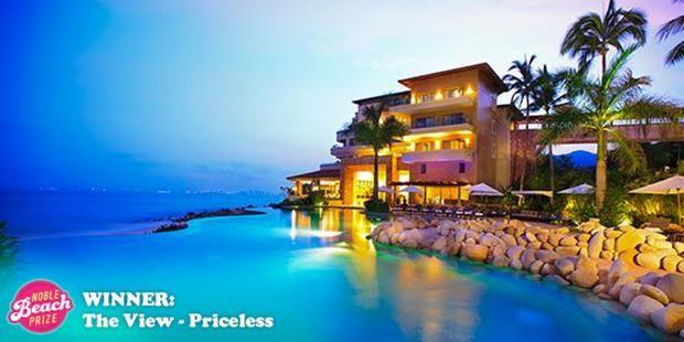 Garza Blanca Preserve Resort. 2015/16 winner for view. $1100 all inclusive - Puerto Vallarta