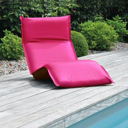 Bain de soleil pliant Modulo Fuchsia prix promo La Maison de Valerie 129.99 € TTC au lieu de 199,99 €