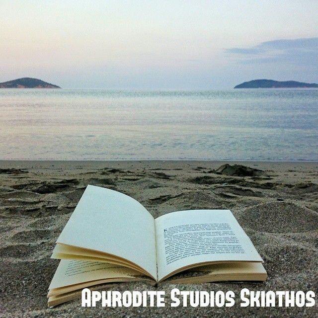 Toes in the #sand, nose in a #book, life is good!    #Skiathos #island #Greece #summer2015 #holidays #vacation #explore #traveling #travel #AphroditeStudios