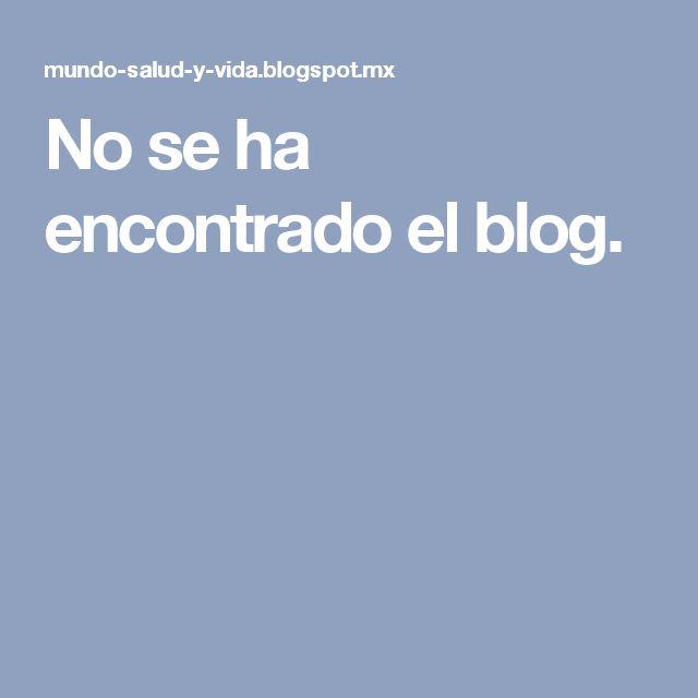 No se ha encontrado el blog.