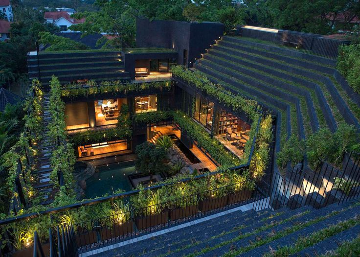 Cornwall Gardens, Chang Architects  http://www.dezeen.com/2016/08/22/cornwall-gardens-house-chang-architects-singapore-architizer-2016-a-awards-stepped-garden-swimming-pool/