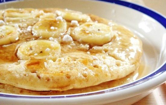 Banana oatmeal pancakes, Oatmeal pancakes and Pancakes on Pinterest