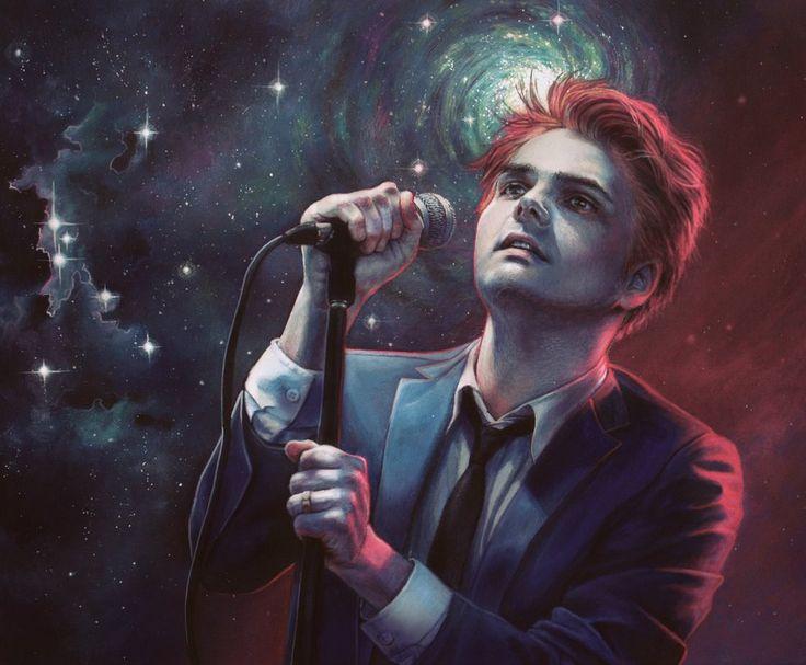 Gerard Way painting by gimgams