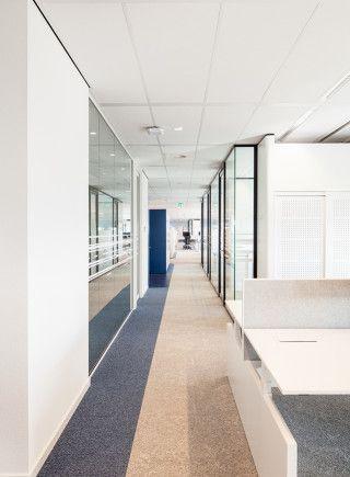 Heerema Marine Contractors | Interior design by HEYLIGERS design + projects. Office, corporate, work floor, interior design.