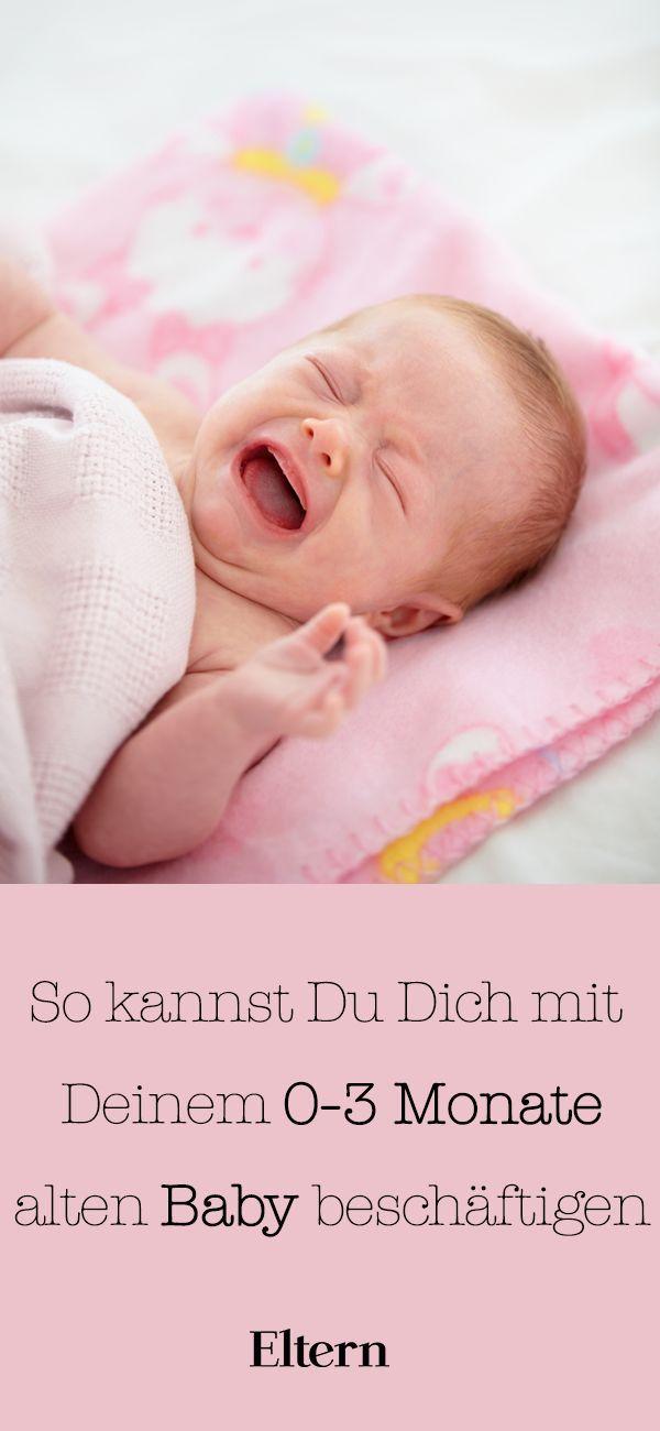 So kannst du dich mit deinem Neugeborenen beschäftigen
