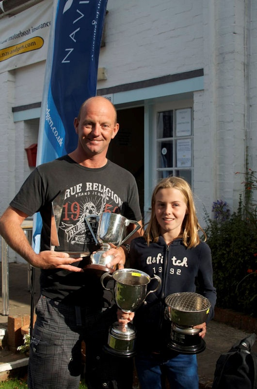 Ian and Zoe Walker won the Mirror UK Nationals 2012 at Itchenor Sailing Club -  a fifth Mirror Nationals title for the America's Cup and Volvo Ocean Race skipper and a first for his daughter Zoe. It was 23 years since Ian last sailed a Mirror and, as he reminded everyone in his winning speech, most of the fleet were not even born when he last sailed a Mirror.  #mirrorsailing