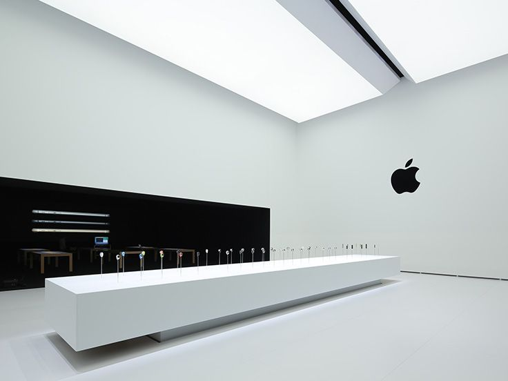 """""""9.9.2014 Wish we could say more."""" post-Apple event minimalist DISPLAY Pavilion off'l image2 New ••APPLE WATCH••iPhone6/6+••  """"Another look inside Apple's Hands-on Pavilion."""" • Event Revolutions: 1.Apple Pay 2.Apple Watch • Event new product: iPhone 6 + iPhone 6 Plus • live keynote video: www.apple.com/live"""