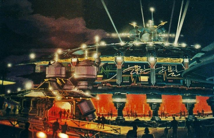 Concept for the Carousel Theatre in Tomorrowland