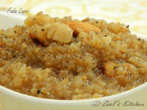 Fada Lapsi Recipe | How to make Fada Lapsi | Zeel's Kitchen