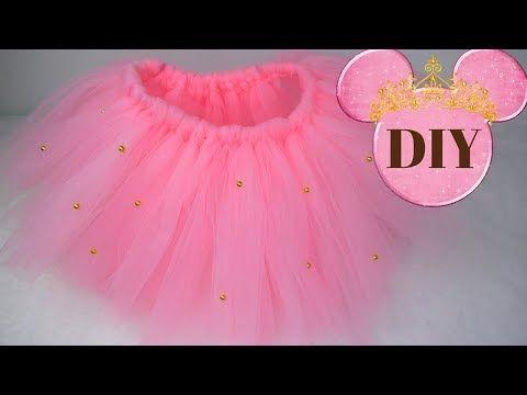 318d70853 DIY como hacer un tutu super facil y rapido sin coser para niñas y ...