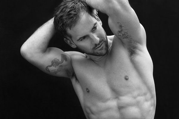 Model presenter Janez Vermeiren shot by Talitha Snow