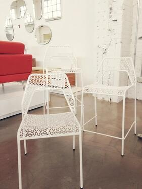 Kind Of Obsessed With These Blu Dot Mesh Chairs