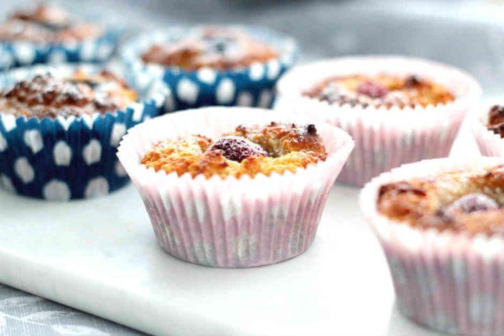 Ett väldigt enkelt och gott LCHF-recept på hallonmuffins som passar för dig som äter LCHF/lowcarb/keto/lågkolhydratkost. Kan även göras till paleo.