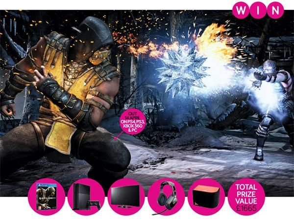 Win a full PS4 rig with Gioteck, Vibe Audio and Mortal Kombat X | Stuff