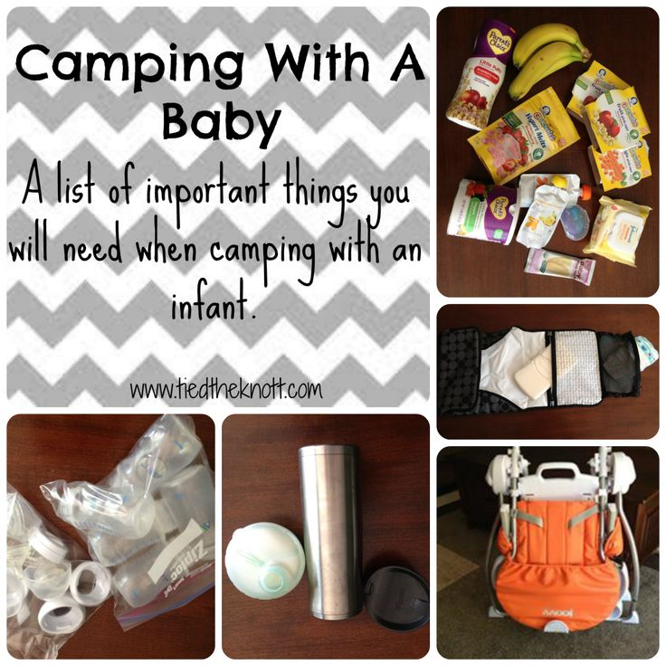 Essentials for Camping with an Infant
