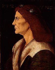 King Matthias of Hungary, b. 1443.  Also known as Matthias Corvinus.