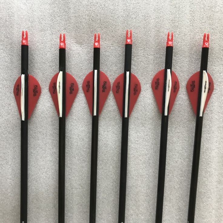 12pcs 32 CE Spine 340 Pure Carbon Arrows 2 Blazer Plastic Vanes Compound traditional Bow hunting free shipping(China (Mainland))