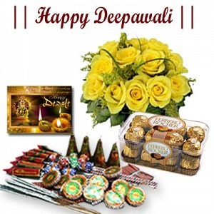 Deepawali Wishes with Hamper