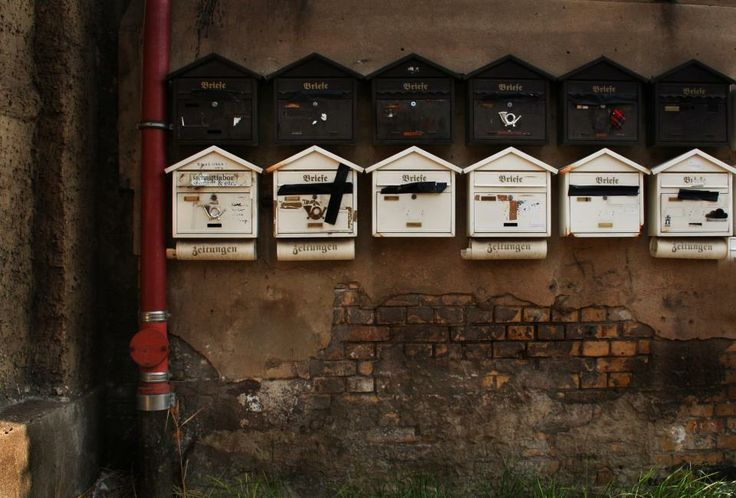 Letter boxes, Berlin