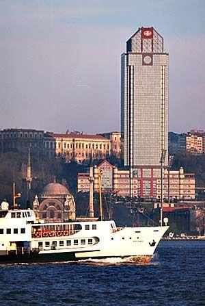 Istanbul, The Ritz Carlton Hotel